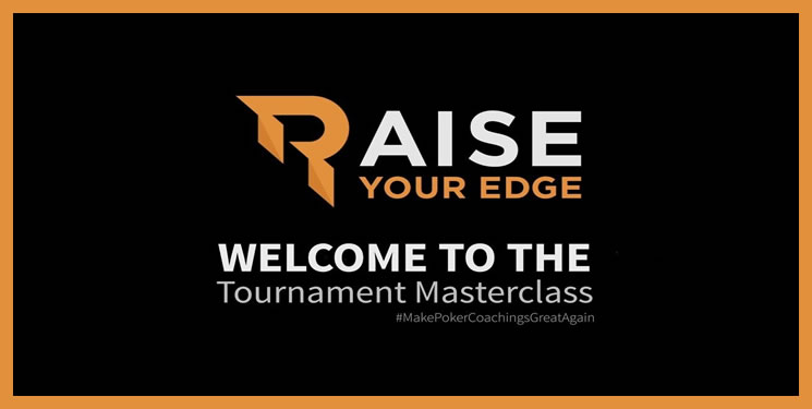 Poker Raise Your Edge: Tournament MasterClass - CompartilhandoBR