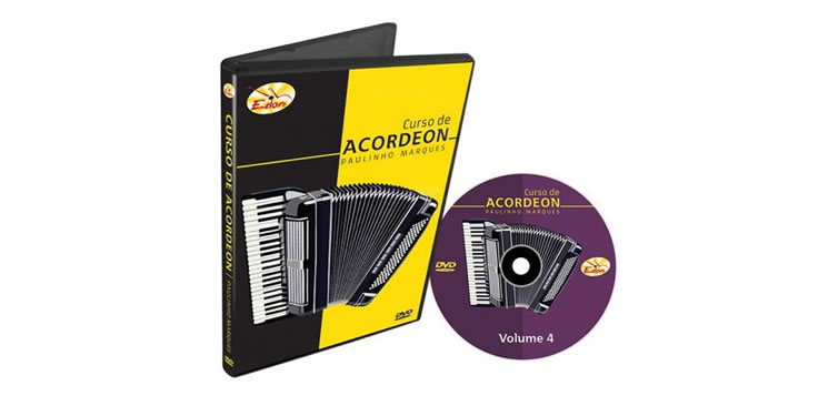 Curso de Acordeon Intermediário Vol. 4